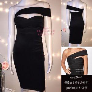 Dresses & Skirts - <Boohoo> midi bodycon wiggle classy dress petite